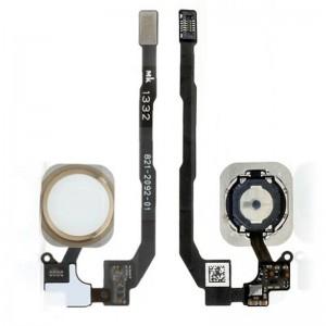 دکمه هوم آیفون 5s اصلی سفید   iPhone 5s Original Home Button