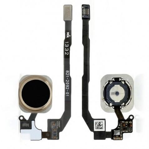 دکمه هوم آیفون 5s اصلی مشکی | iPhone 5s Original Home Button