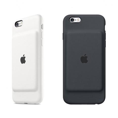 قاب سیلیکونی باتری دار آیفون 6 و 6s کپی | iPhone 6 and 6s Smart Battery Case