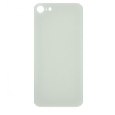 گلس شیشه پشت آیفون 8 اصلی نقره ای   iPhone 8 Original Rear Glass Panel