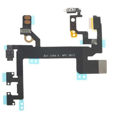فلت دکمه پاور ولوم و سایلنت آیفون 5s اصلی | iPhone 5s Original Volume Button and Ringer Switch