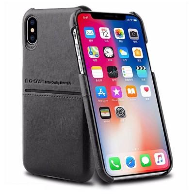 قاب چرمی G-CASE Cardcool مناسب Iphone XS Max