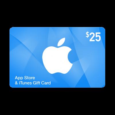 گیفت کارت 25 دلاری اپل