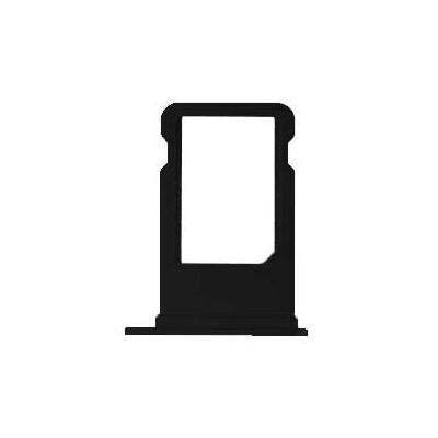 خشاب سیم کارت آیفون سری 7 اصلی مشکی   iPhone Original 7 Series SIM Card Tray