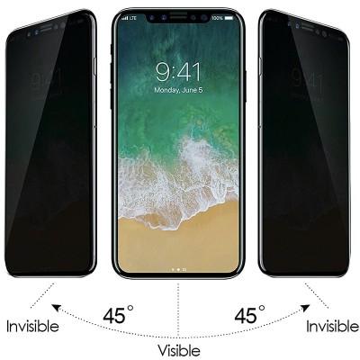 گلس پرایوسی آیفون XR ایکس آر | iPhone XR Privacy Screen Protector