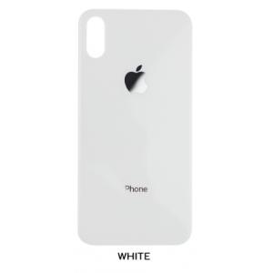 درب-شیشه-پشت-ایفون-X-اصلی-سفید