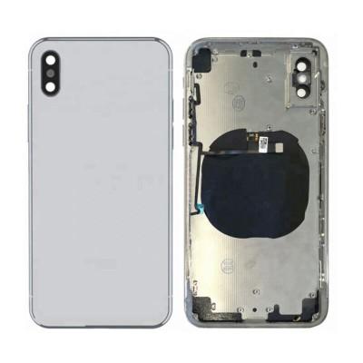 بدنه شاسی آیفون XS Max اپل | های کپی نقره ای