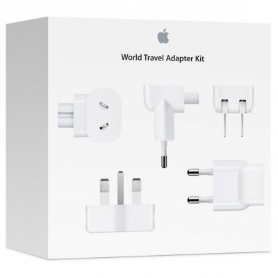 پکیج تبدیل برق تمام کشورها برای اپل | Apple World Travel Adapter Kit