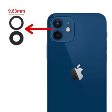شیشه لنز دوربین آیفون 12 اصلی   iPhone 12 Rear Camera Lens Cover