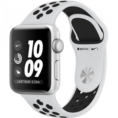 ساعت هوشمند اپل واچ سری 3 مدل Nike Plus 38mm Silver