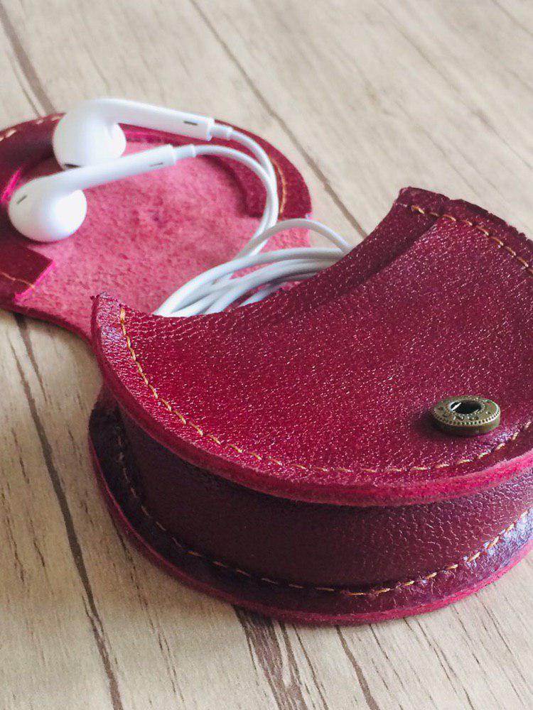 کیف چرمی هندزفری