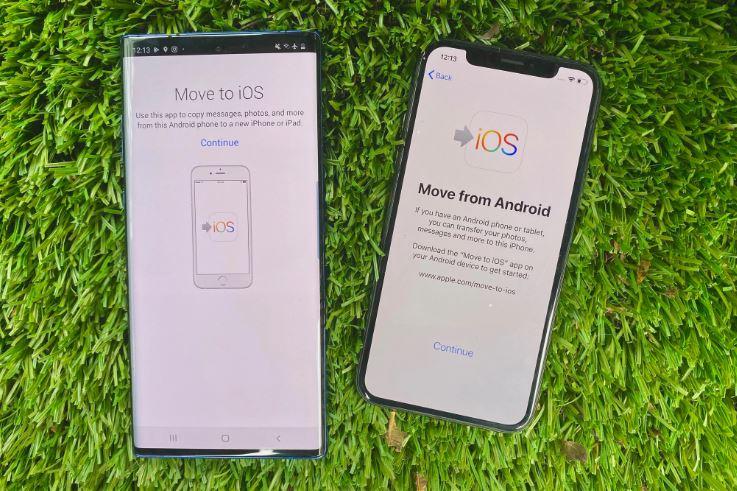 انتقال اطلاعات از گوشی اندروید به ایفون  11
