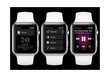 آموزش پخش موزیک با اپل واچ بر روی ایرپاد